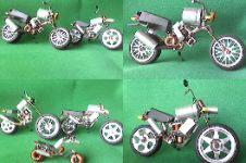 Miniatur moge ini dibuat dari limbah elektronik, keren!