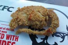Sekilas daging KFC ini memang mirip tikus, tapi tes DNA buktikan ayam!