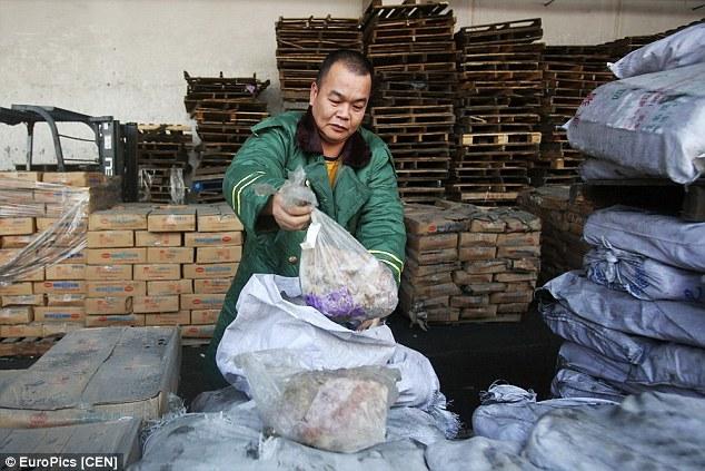 Heboh skandal penyelundupan daging beku berusia 40 tahun di China
