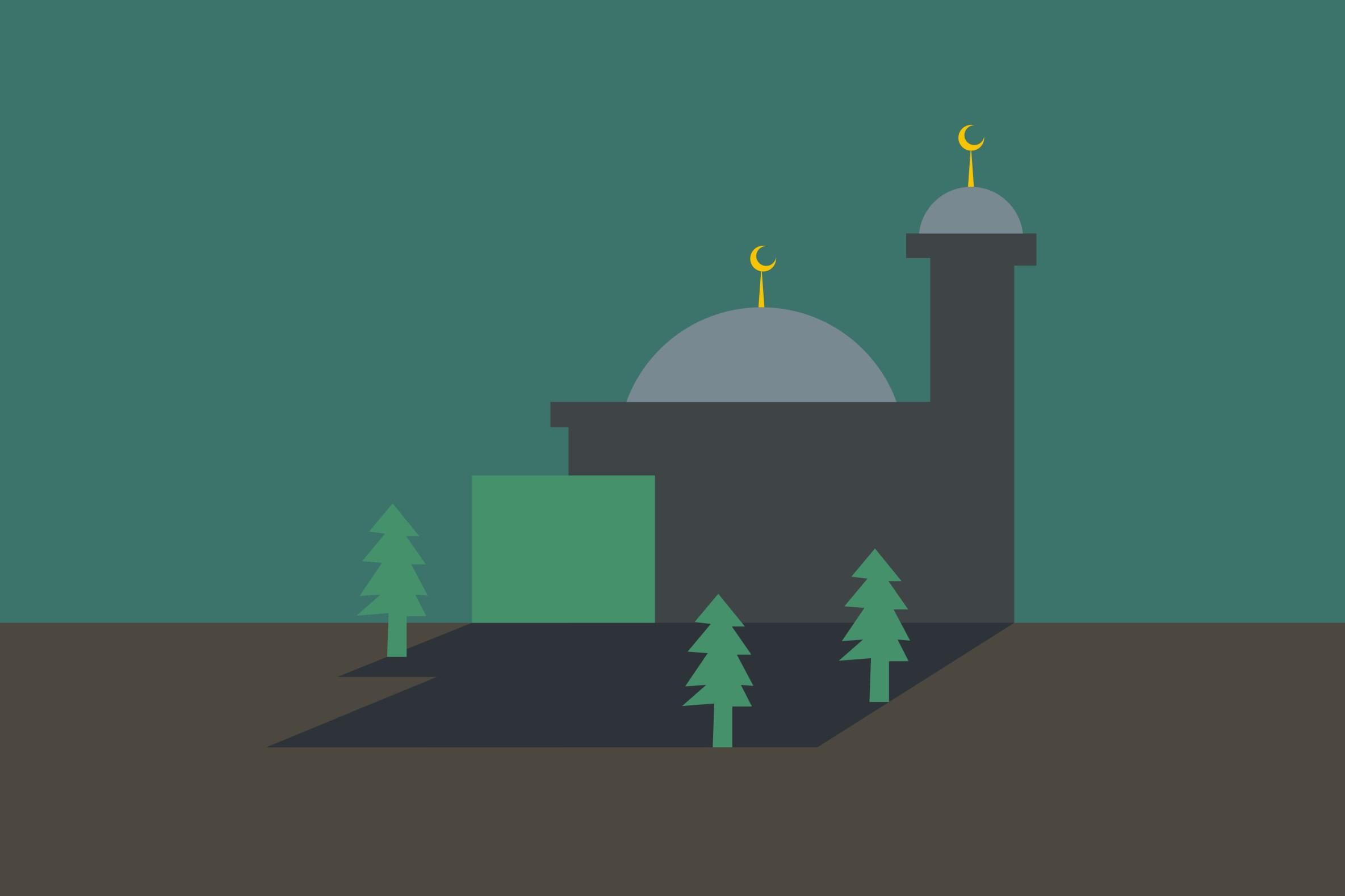5 Masjid di dunia ini arsitekturnya keren banget, Allahu Akbar!