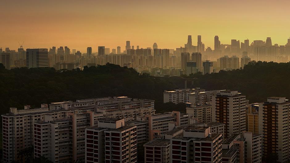 Singapura sukses ciptakan kebun 'di atas awan', keren!