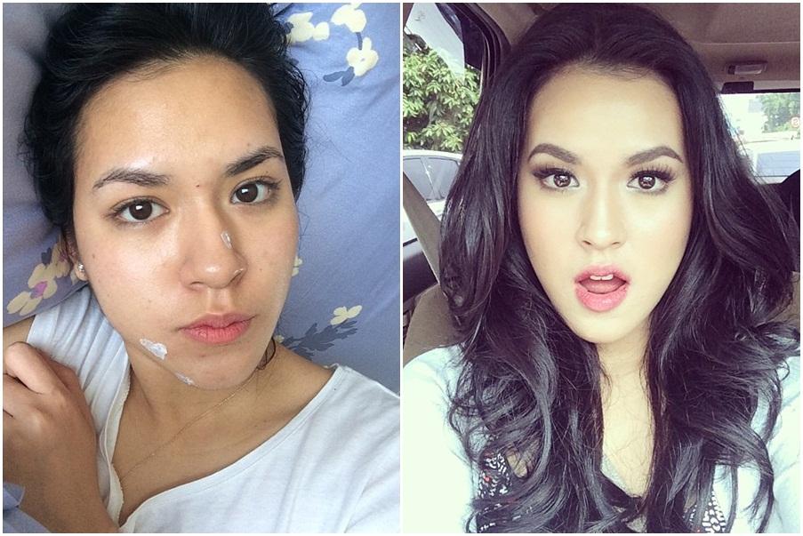 17 Foto keajaiban make up ini bakal bikin kamu melongo