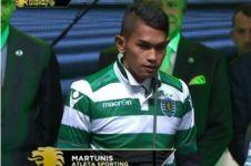 Martunis, anak angkat CR7 itu kini jadi pemain Sporting Lisbon, wow!