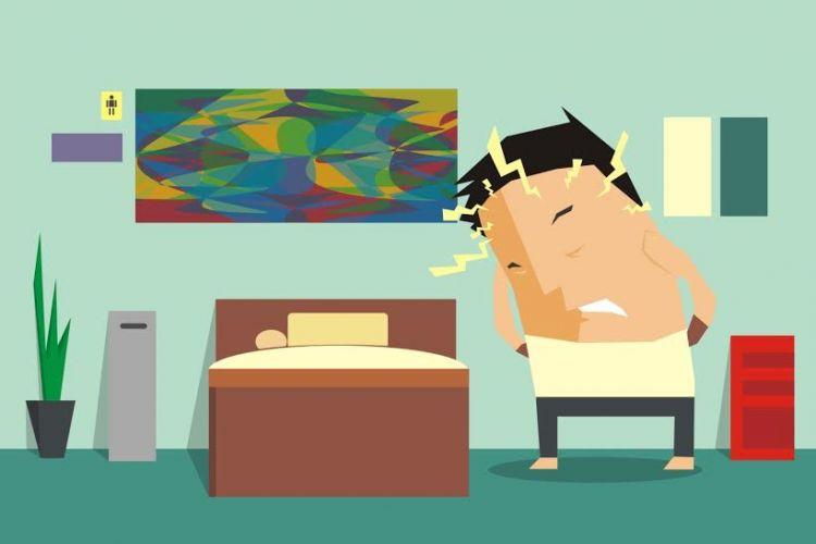Kamu Suka Tiba Tiba Sakit Kepala Di Malam Hari Ini Lho Penyebabn