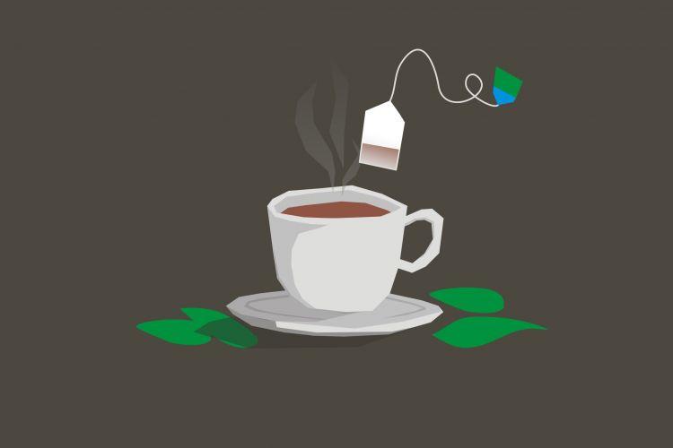 Jangan buang sisa teh celup, ampuh lho usir bau kaki