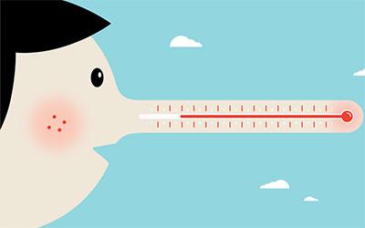 Kalau kamu berbohong, suhu hidungmu bisa naik! Begini penjelasannya