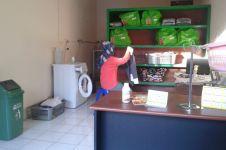 ECO WASH, laundry ramah lingkungan ala mahasiswa bayarnya pakai sampah