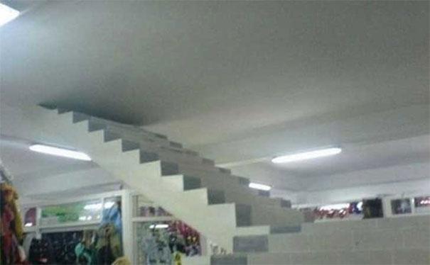 Hasil kerja arsitek yang ngawur, cocoknya jadi karya seni