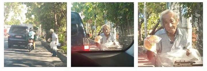 Kisah Kakek Wijaya, pensiunan guru yang kini jualan kerupuk pangsit