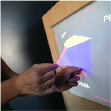 'Ghost', teknologi yang memungkinkan benda ditarik ke luar layar