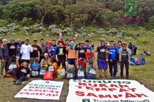 Trashbag Community, 'penyapu' gunung bersihkan sampah pendaki palsu