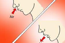 Mana lebih sehat, bernapas lewat hidung atau mulut?