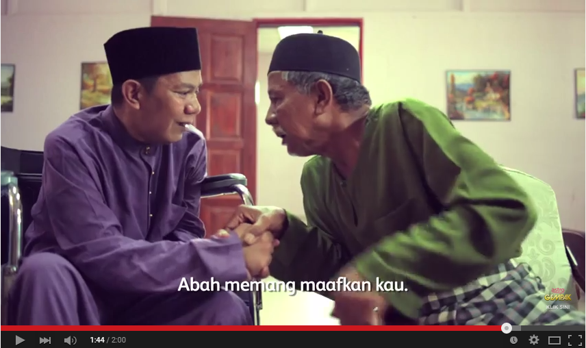 VIDEO: Permintaan maaf pecandu ke ayahnya saat Lebaran, bikin haru