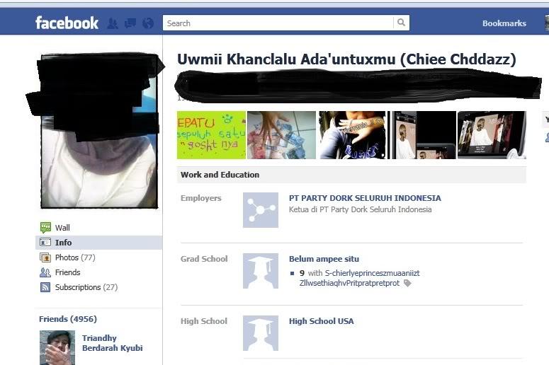 20 Nama alay di Facebook yang bakal bikin matamu jereng