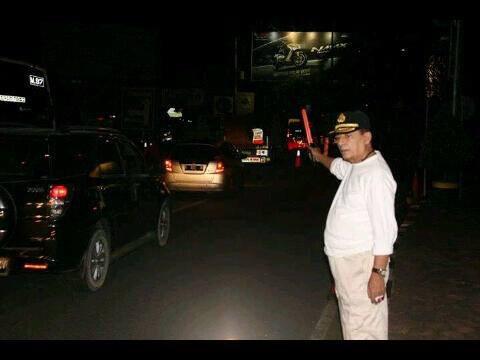 Amankan jalur pemudik, Habib Luthfi turun tangan ke jalan raya