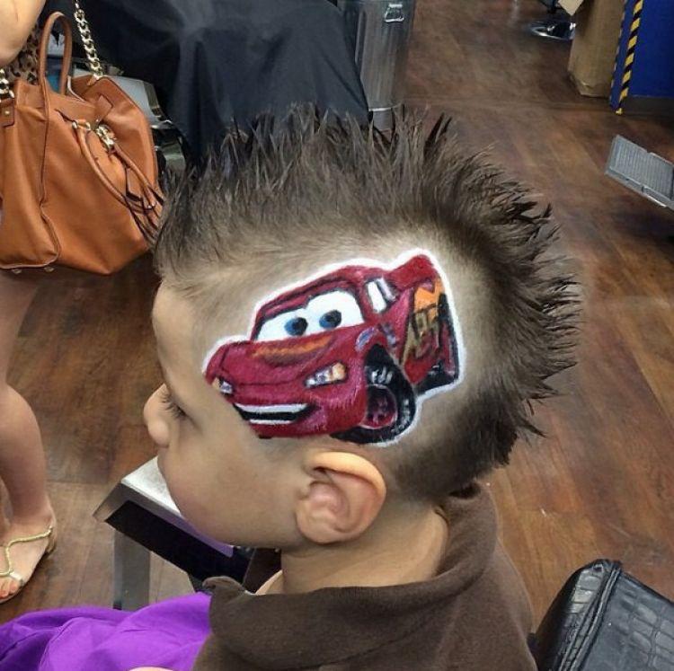 10 Gambar Keren Ini Dibuat Oleh Tukang Cukur Cuma Memakai Rambut
