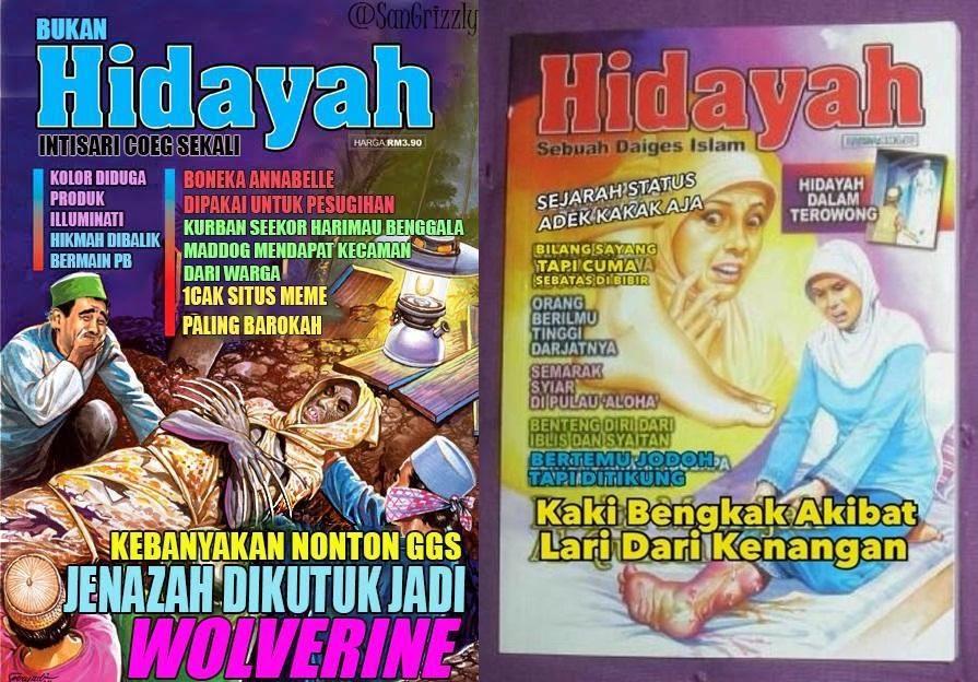13 Plesetan cover majalah Hidayah, ada-ada saja parodinya!