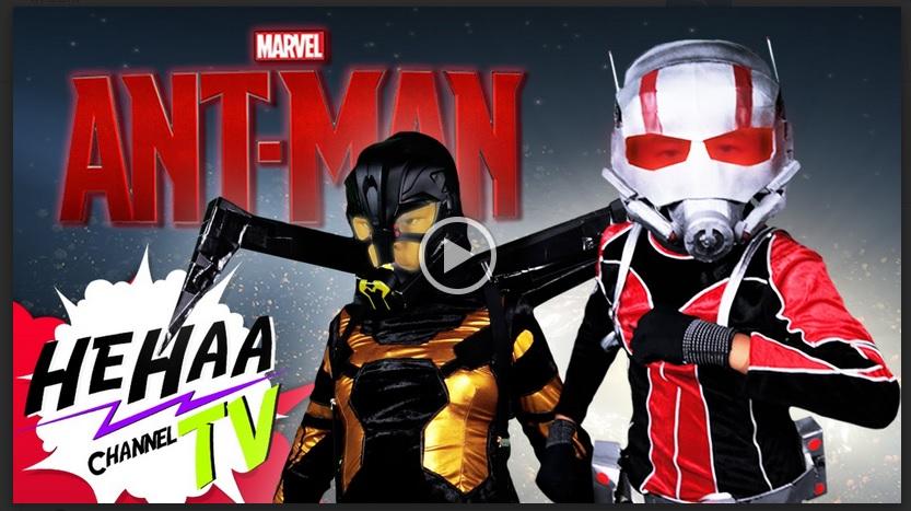 VIDEO: Parodi Ant-Man anak-anak Thailand, keren!