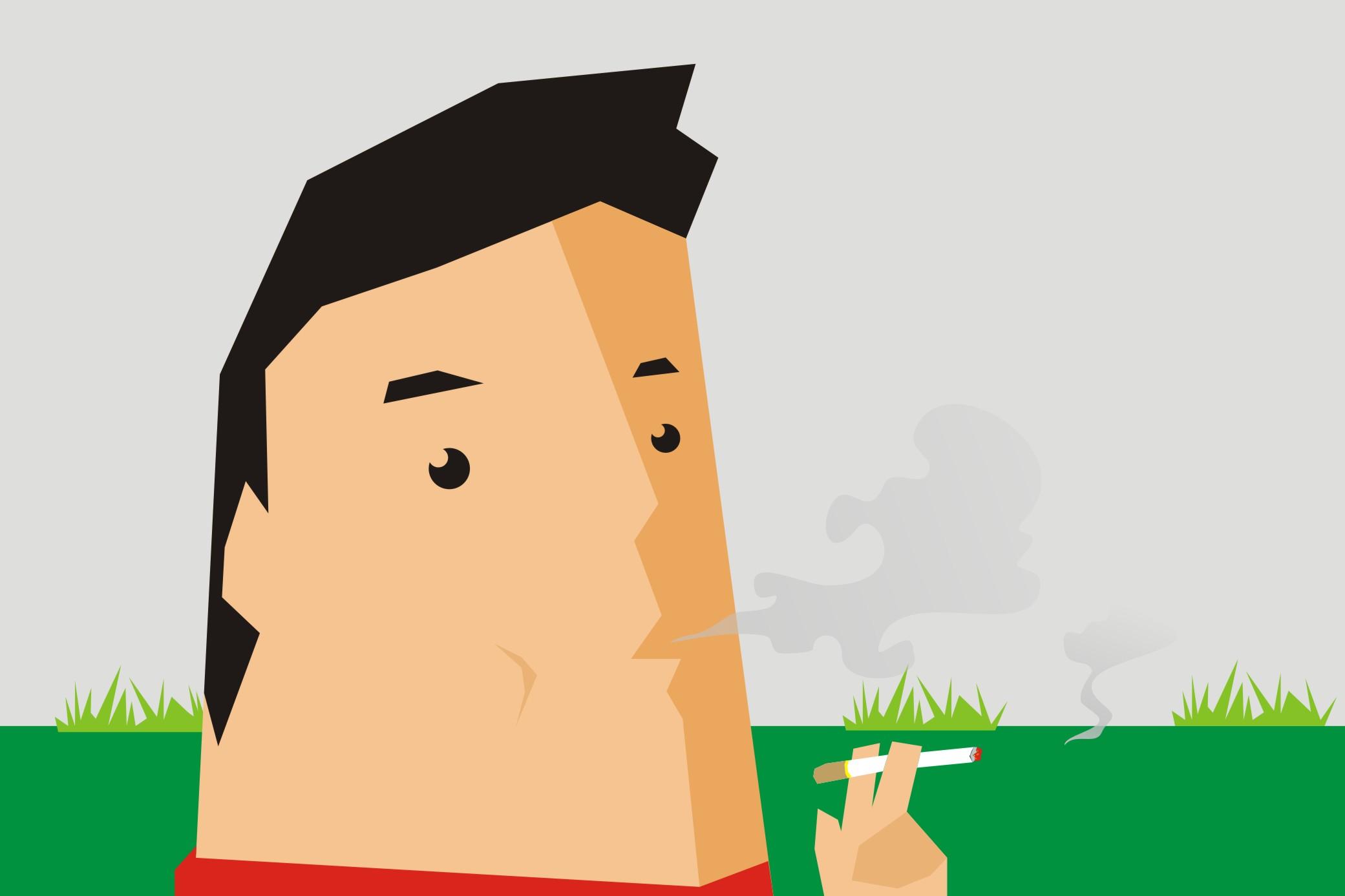 Merokok setelah makan tingkatkan risiko terkena kanker
