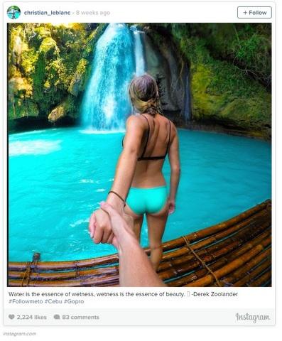 Inspiratif, pria ini ajak pacarnya keliling dunia lewat foto-foto unik