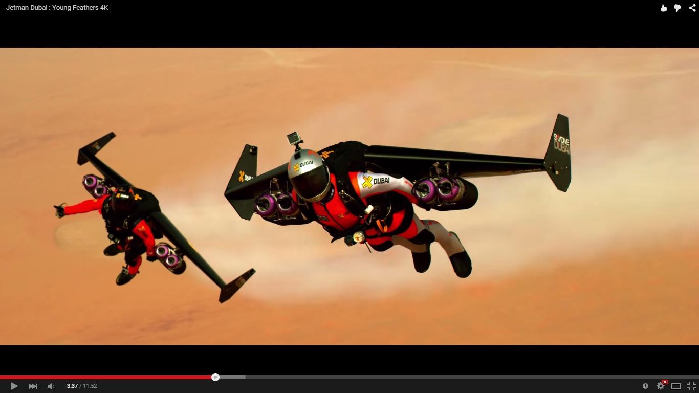 VIDEO: Canggih banget! 'Iron Man' sungguh ada di Dubai, Jetman namanya