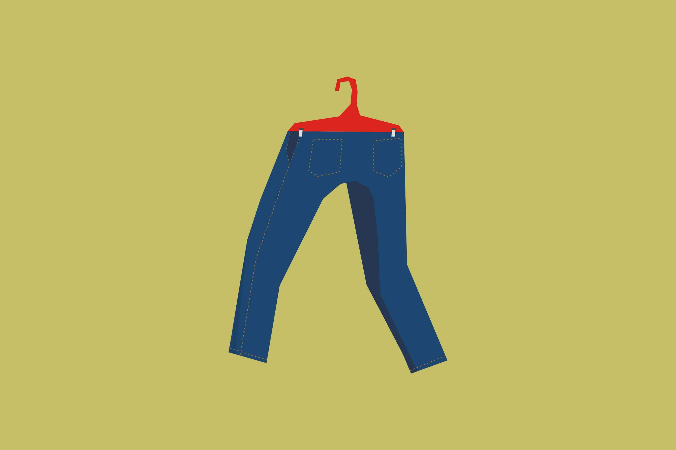 Jeans kamu kena permen karet? Jangan bete, ini cara membersihkannya