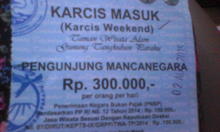 Tiket masuk wisatawan mancanegara terlampau mahal, netizen protes!