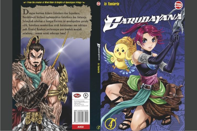 Garudayana, komik Indonesia yang sukses kalahkan manga di Jepang