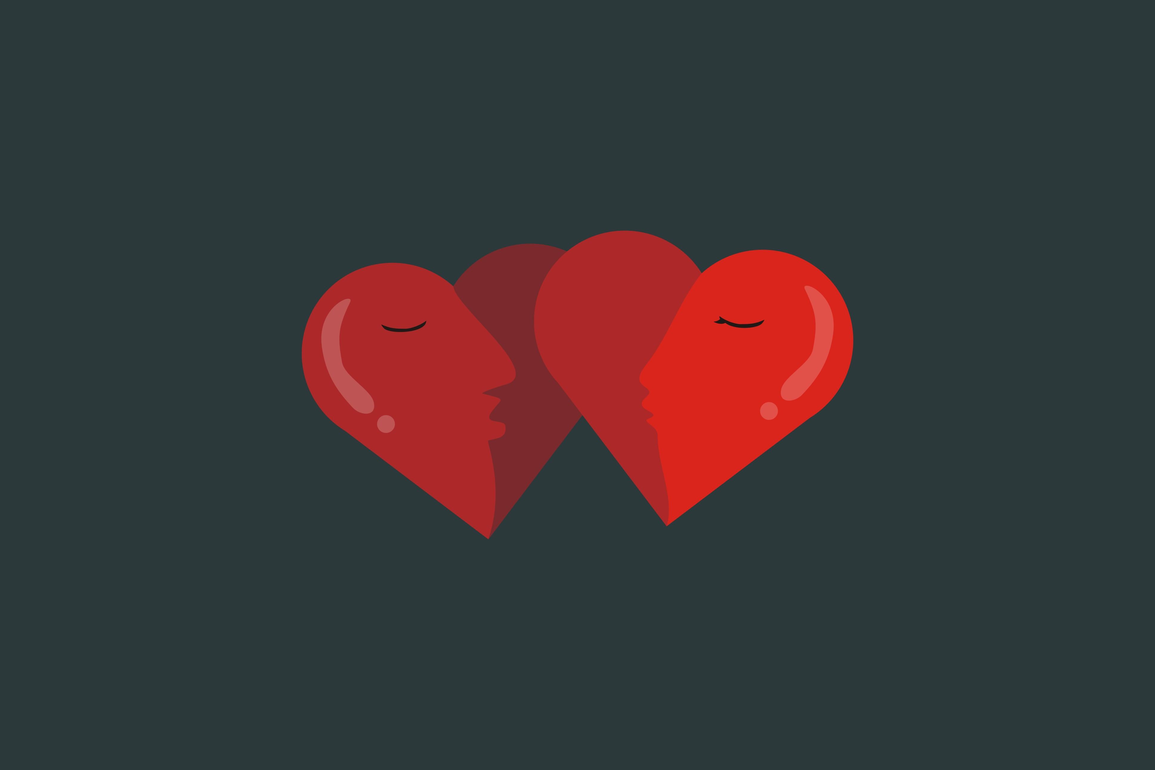 Berciuman tak selalu menjadi hal romantis dalam percintaan
