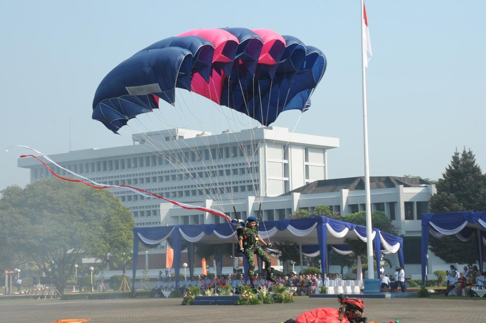 Pink Force, tim terjun payung wanita TNI AU yang melegenda