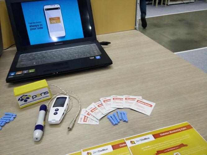 Kontrol gula darah kini bisa pakai aplikasi android