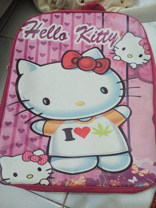 Pesan Cinta Narkotika Diselipkan Di Tas Hello Kitty Hati Hati