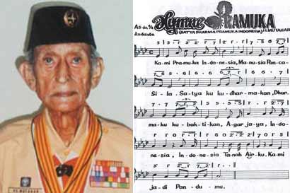 Pencipta lagu Hari Merdeka, juga pencipta hymne Pramuka, siapa dia?