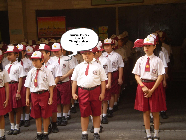 7 Tipe pelajar saat upacara 17 Agustus di sekolah