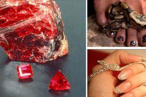 Perawatan kecantikan paling mewah, berlian untuk facial & manicure