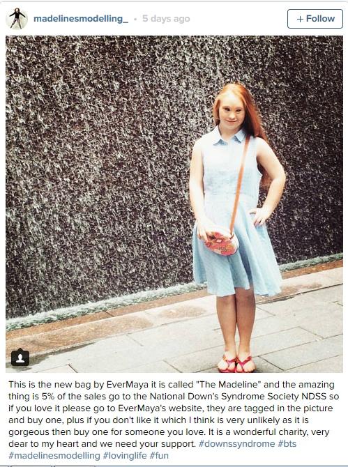 Madeline stuart, model down syndrome yang tak lelah wujudkan mimpi