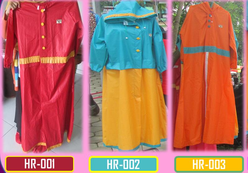 Hi-Robot, jas hujan syar'i dan stylish untuk para hijaber