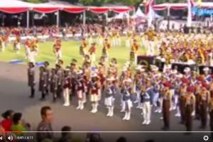 VIDEO: Aksi polisi cilik di Istana Negara pukau Presiden Jokowi