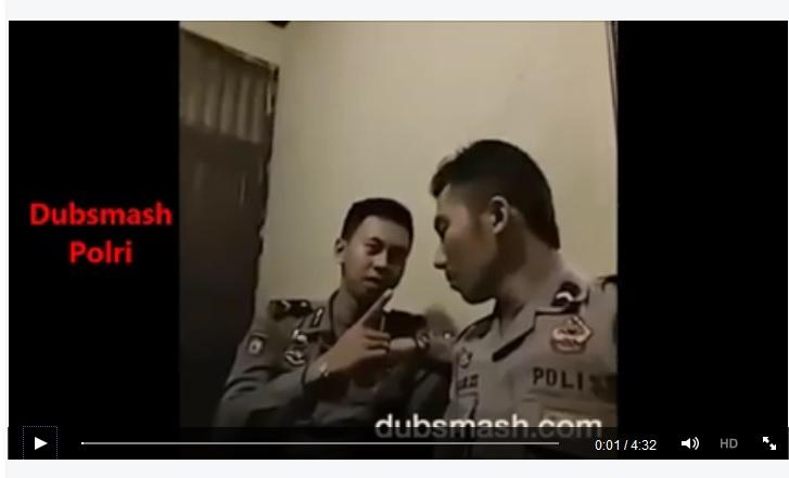 VIDEO: Kompilasi Dubsmash Polri bikin banyak orang terhibur