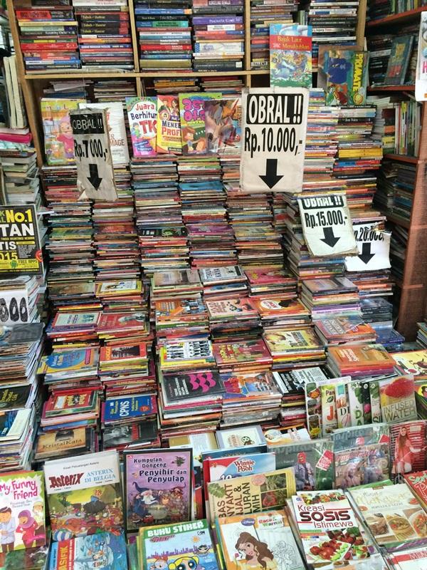 Pusat buku Jogja ini terkenal hingga luar kota, apa istimewanya?
