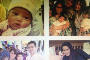 6 Bayi artis ini sudah 'melek medsos', pengikutnya ribuan