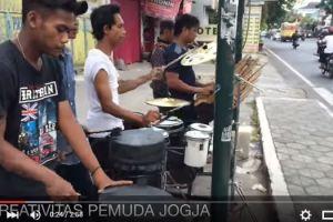 VIDEO: Aksi musisi jalanan Jogja, keren!