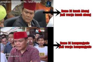 Netizen bingung, pria ini warga Tanah Abang atau Kampung Pulo sih?