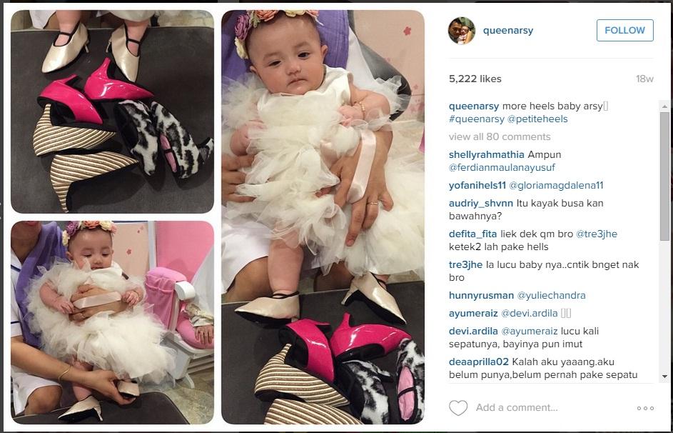 5 Fenomena Baby Arsy anak Anang dan Ashanty