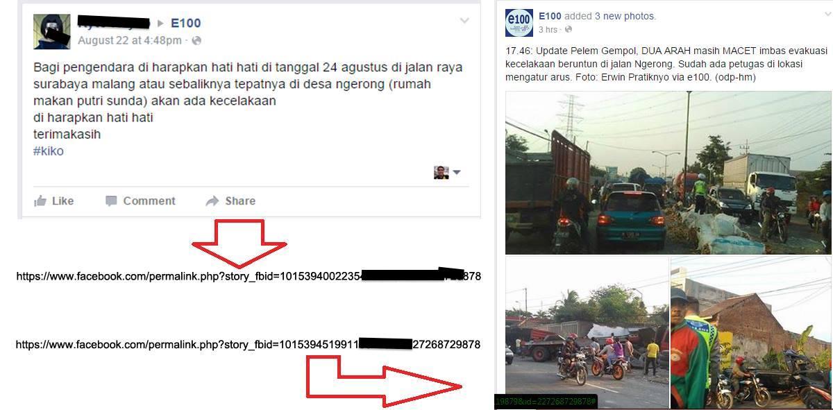 Heboh postingan netizen yang tepat memprediksi kecelakaan