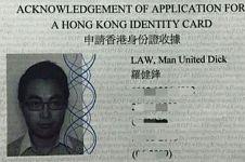 Ngefans berat MU, pria ini ubah namanya jadi 'Man United Dick Law'