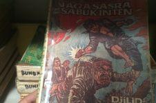 Tempat rental buku ini koleksi ratusan komik lawas jadi incaran