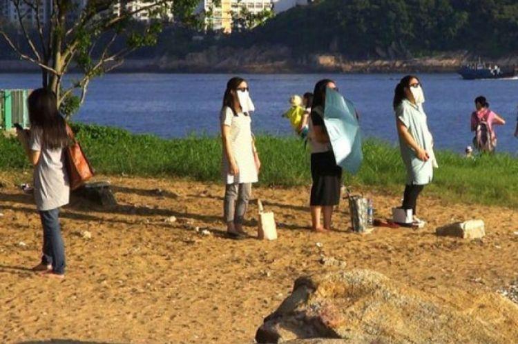 Diet unik ala Hong Kong, menatap sinar matahari untuk gantikan makan!