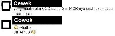 HP dipinjam pacar, game COC dan Getrich melayang