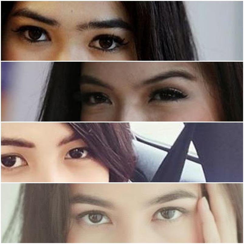 Siapa artis cantik Indonesia pemilik mata indah ini?